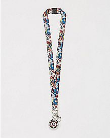Captain America Watch Lanyard