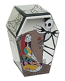 Glass Nightmare Before Christmas Jewelry Box