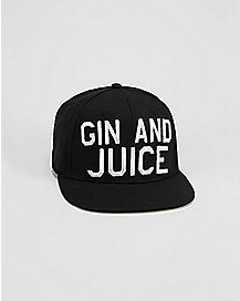 Gin and Juice Snapback Hat