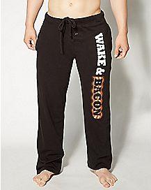 Wake and Bacon Lounge Pants