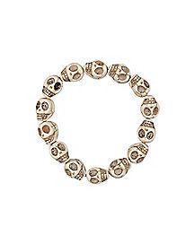 Ivory Skull Bracelet