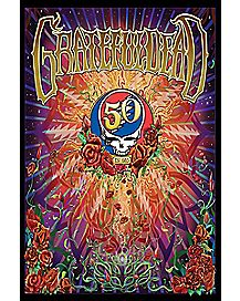 50th Anniversary Grateful Dead Poster
