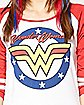Wonder Woman Raglan Tee