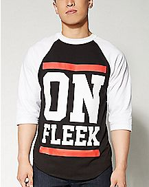 On Fleek Raglan T shirt