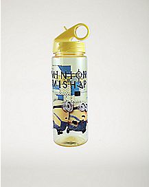 Minion Mishap Despicable Me Water Bottle 20 oz