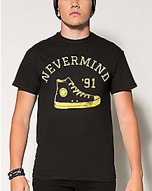 Nevermind Nirvana T shirt