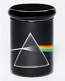 3 oz Dark Side of the Moon Glass Storage Jar