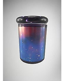 Foil Print Galaxy All Over Storage Jar