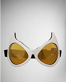 White Cat Eye Goggles