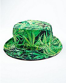 Leaf Smoke Bucket Hat
