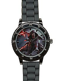 Star Wars Force Awakens Kylo Ren Gray Watch