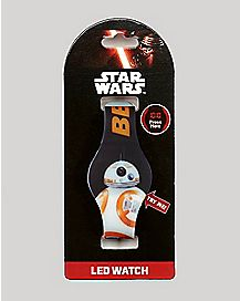 BB-8 The Force Awakens Star Wars LED Watch