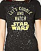 Star Wars Let's Cuddle Tee