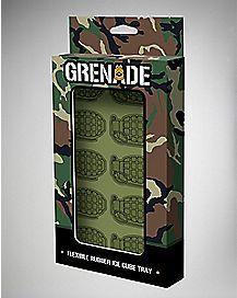 Camo Grenade Ice Cube Tray