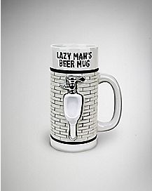 Lazy Man's Urinal Beer Mug 24 oz
