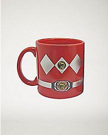 Red Power Ranger Mug 22 oz