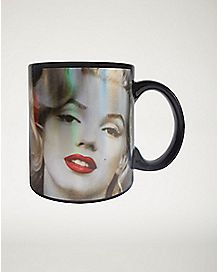 Laser Face Marilyn Monroe Mug 20 oz