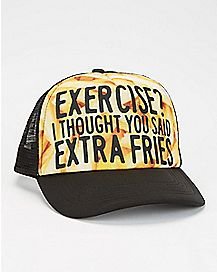 Extra Fries Trucker Hat