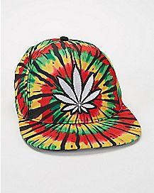 Faded Rasta Snapback Hat