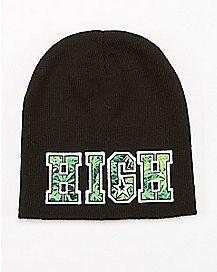 High Beanie Hat