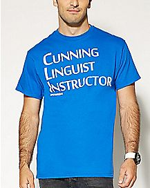 Cunning Linguist Instructor T shirt