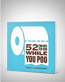 52 Things To Do While You Poop Book