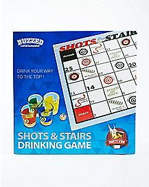 Shots and Stairs Drinking Game