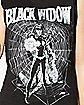 Black Widow Muscle Tank Top
