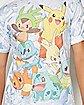 Starters Pokemon T shirt