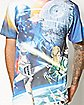 Sublimated Star Wars T shirt