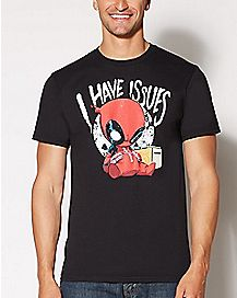 Deadpool I Have Issues T Shirt - Marvel Comics