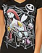 Jack and Sally Nightmare Before Christmas Tee