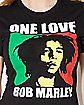 One Love Rasta Bob Marley Tee