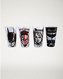 Arkham Knight DC Comics Pint Glass Set 16 oz