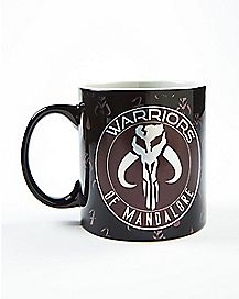 Laser Warriors of Mandalore Star Wars Mug 20 oz