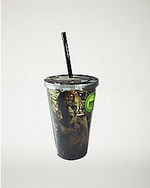 Zombie Print The Walking Dead Cup With Straw - 16 oz.