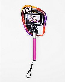 Pink Selfie Stick With Remote