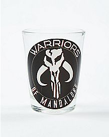 Warriors of Mandalore Star Wars Shot Glass 1.5 oz