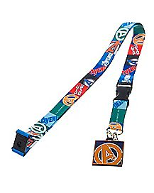 Avengers 2 Captain America With ID Lanyard