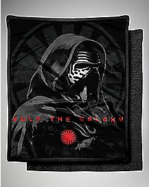 Kylo Ren Force Awakens Star Wars Fleece Blanket