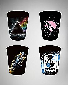 Splatter Pink Floyd Shot Glass Set