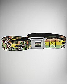 84 Pizza Seatbelt Belt -TMNT