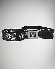 Teeth Venom Seatbelt Belt - Marvel Comics