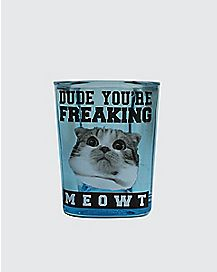 Square Freaking Meowt Shot Glass
