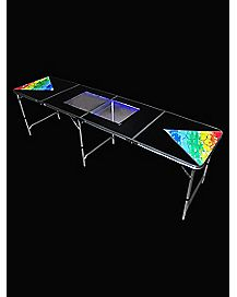 LED Dry Erase Board Beer Pong Table - 8 ft