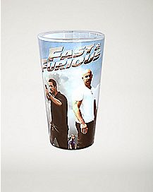 Character Photo Fast & Furious Pint Glass 16 oz