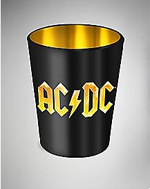 Foil ACDC Shot Glass - 1.5 oz