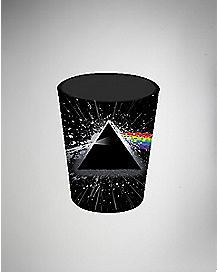 Foil Splatter Pink Floyd Shot Glass 1.5 oz