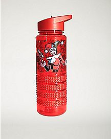 Bling Harley Quinn DC Water Bottle 25 oz