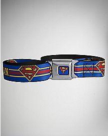 Logo Superman Seatbelt Belt